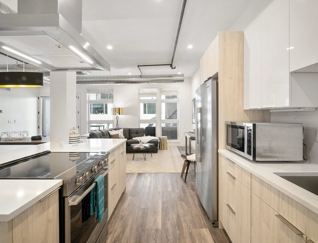 Kitchen with Stainless Steel Appliances