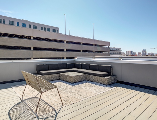 Rooftop Deck with Seating (4th Level)