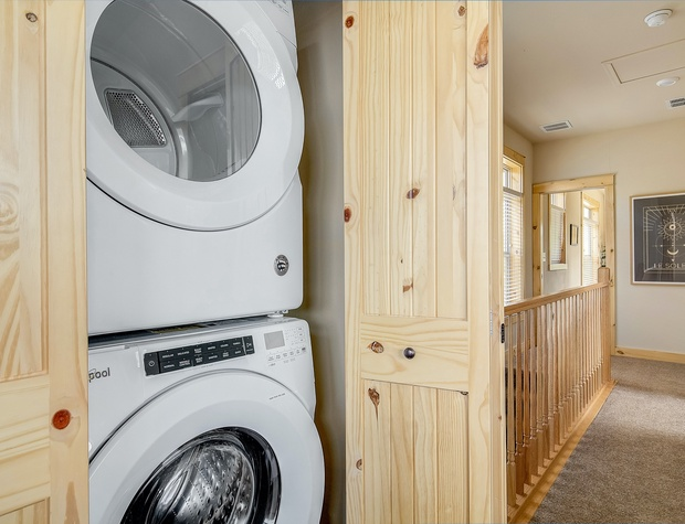 Laundry Machines located in Bedroom 3