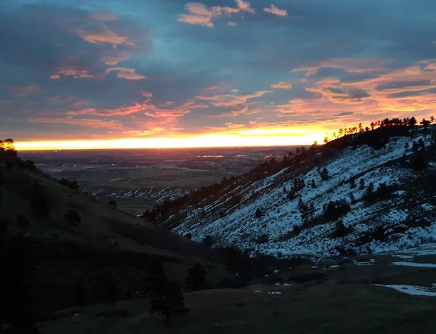 Colorado sunrises to treasure forever!