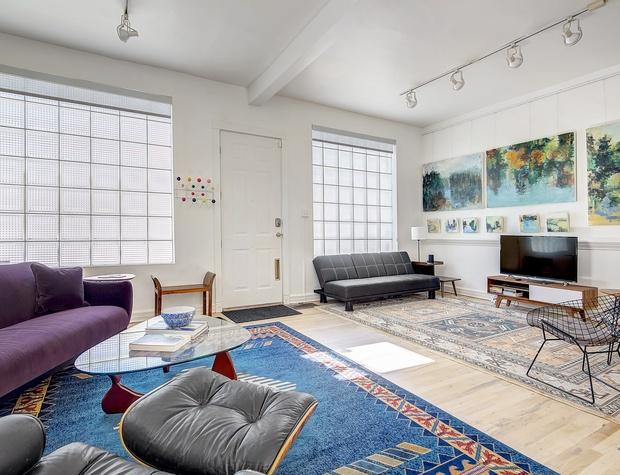 Living Area w/ TV