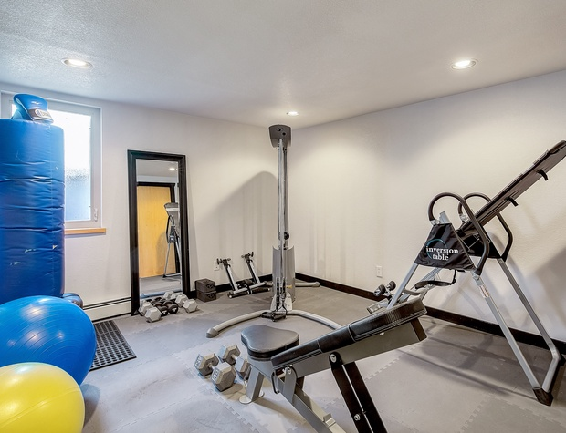 Gym Area with Equipment!