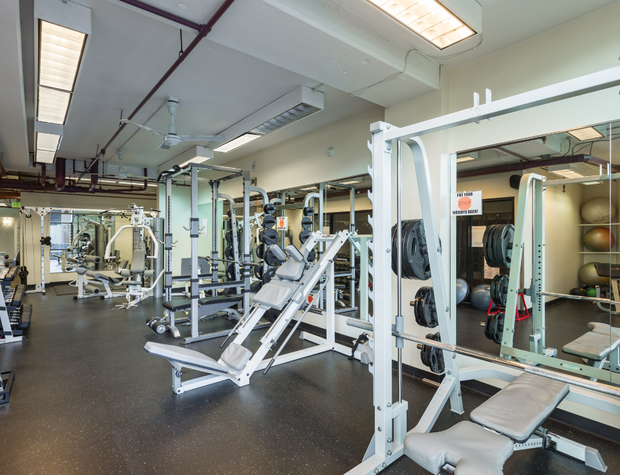 Workout Room - Free Weights, Nautilus, Racquetball, etc.