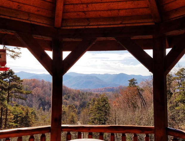 Fall View from A Wilderness Hideaway