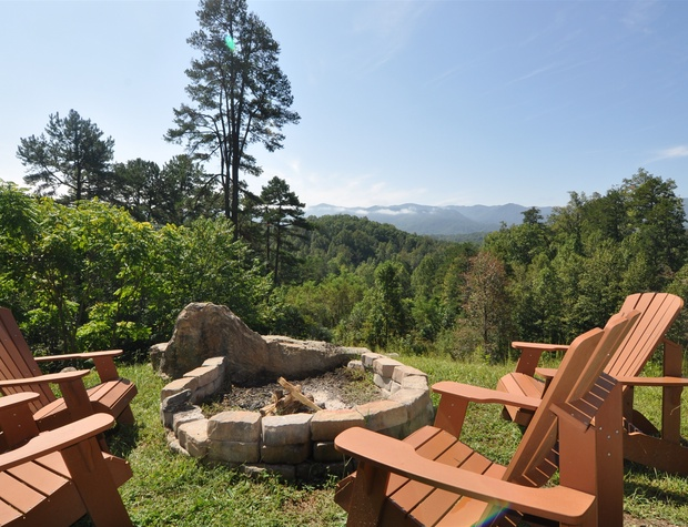 Gather Around the Firepit and Enjoy the View