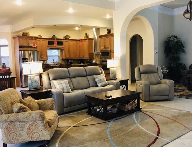 Villa Ana Capri | Living Room