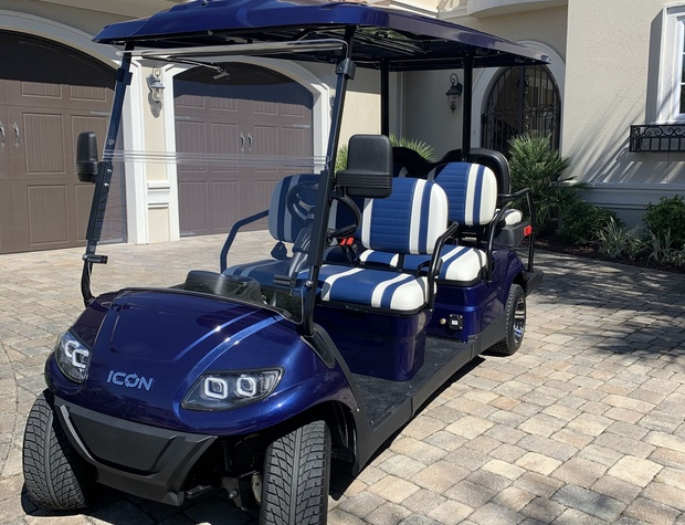 Casa del Sueno | FREE street legal golf cart for quick trips to the beach and community gym.