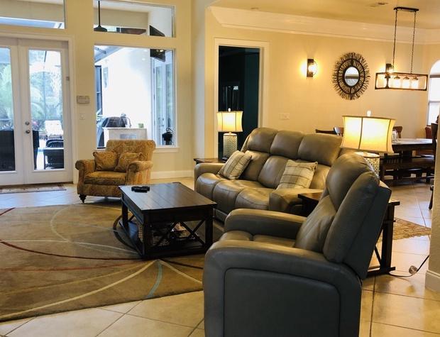 lVilla Ana Capri | Living Room
