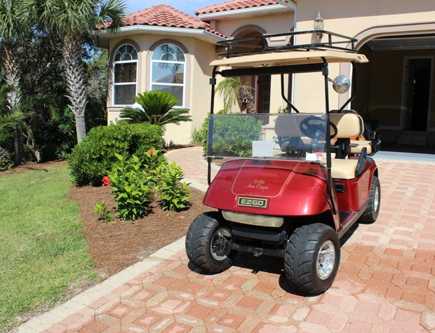 Villa Ana Capri | FREE included 4 Seater Street Legal Golf Cart