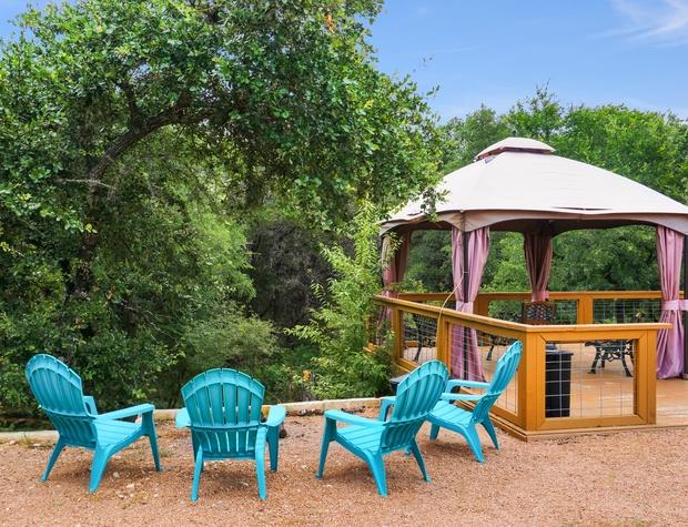 Additional backyard seating