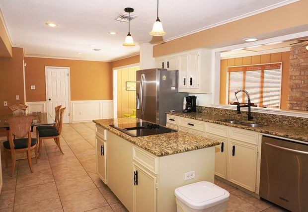 Granite countertops and brand new appliances
