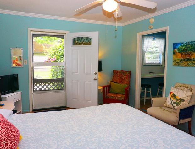 Inside looking toward the front door