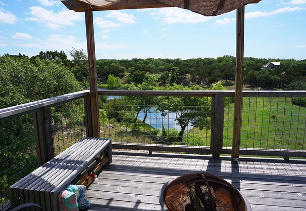 Back deck views of the lake