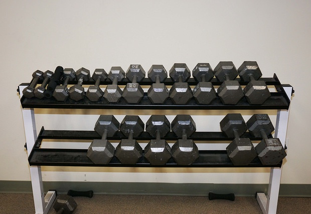 Full set of free weights