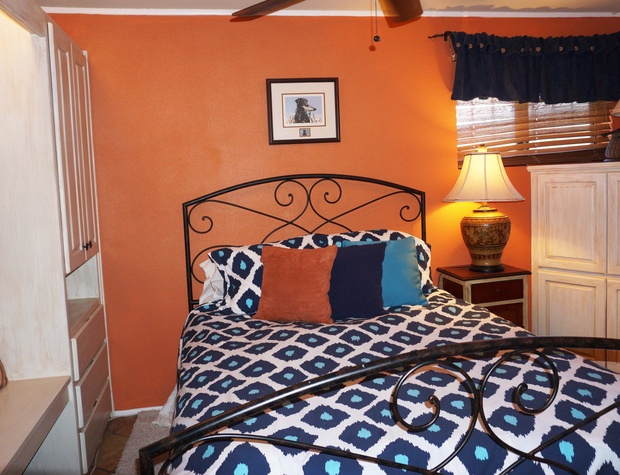 Fourth bedroom with a queen size bed