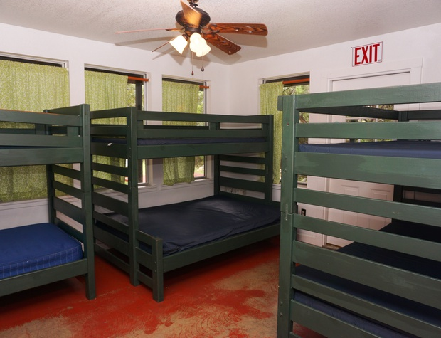 More bunk beds in first sleeping area