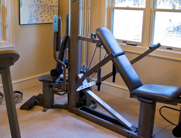 Master also has a private exercise room