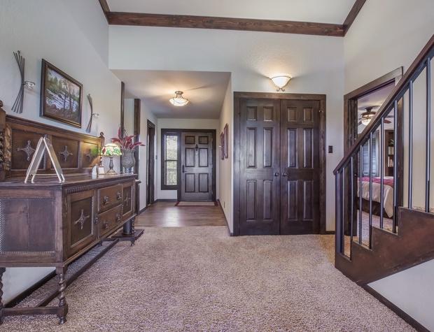 Clutter Falls Main Front Door
