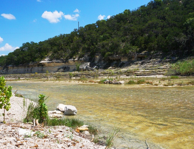 Perfect spot on the Blanco River