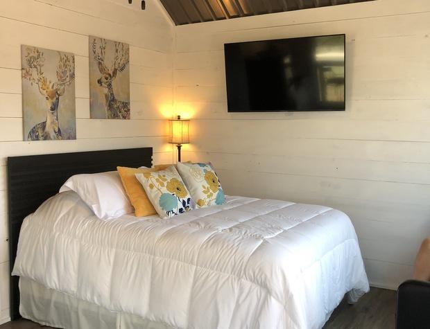Bedroom 1 with the Queen bed