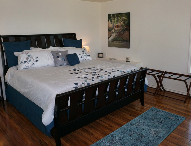 Firm King size bed