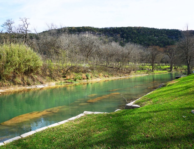 Hill Country views from the river
