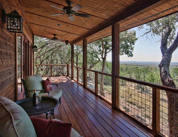 Luxury Cabins Stony Ridge - Ruby Cabin | Hill Country
