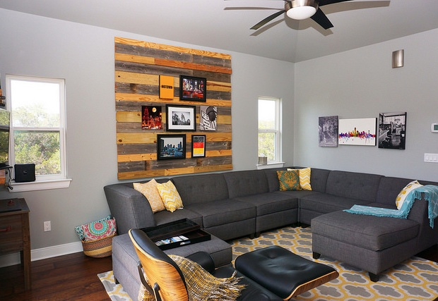 Comfortable living area with plenty of lounge seating.