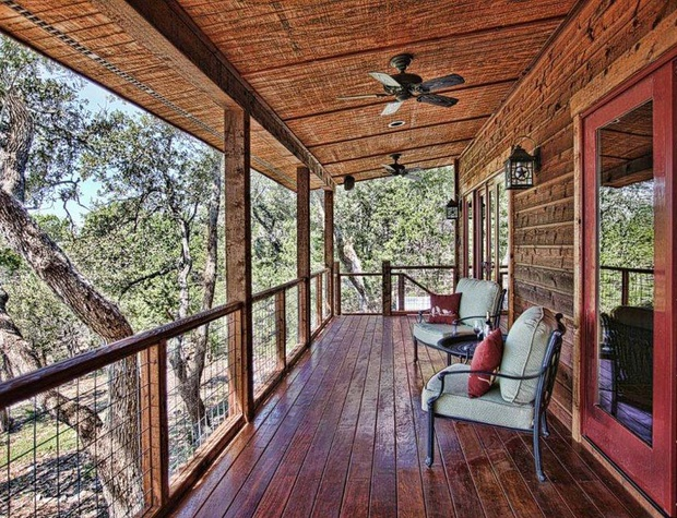 Luxury cabins stony ridge ruby cabin wimberley for Texas hill country cabin builders