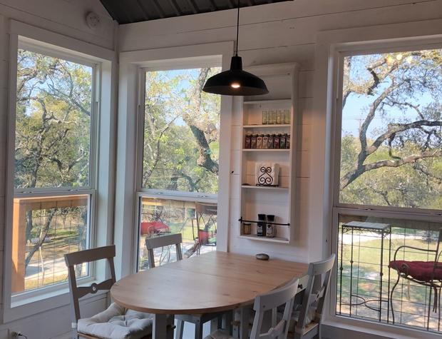 Dining room views.