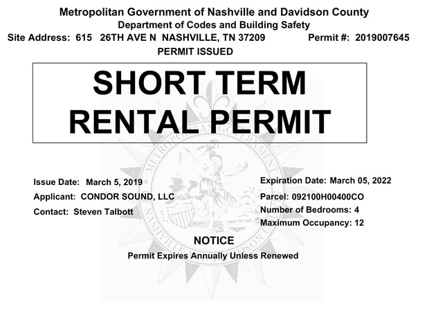 Permit - 615 26th Ave N - Expires March 2022-4