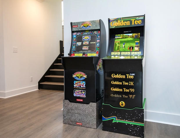* Golden Tee is out of order. We are waiting on the manufacturer to send a replacement.
