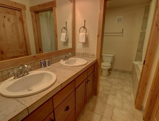 Dual Sink in Master Bathroom