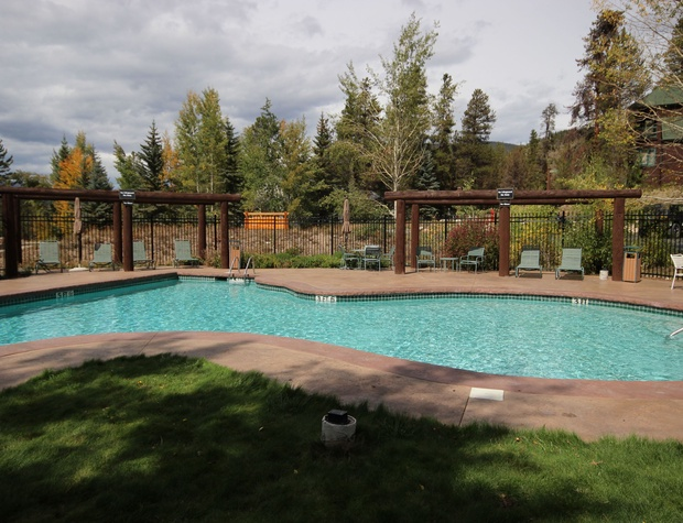 Heated Outdoor pool at Soda Springs