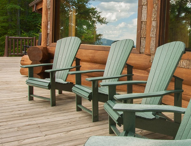 exterior deck chairs