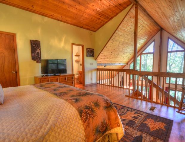 Big Swag Loft Bedroom
