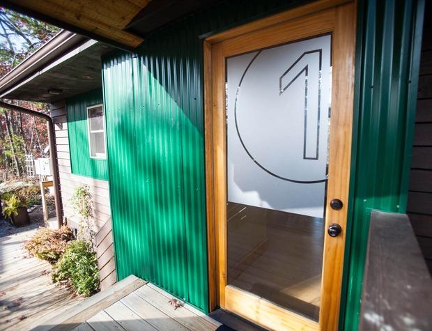 Loft 1 entry door