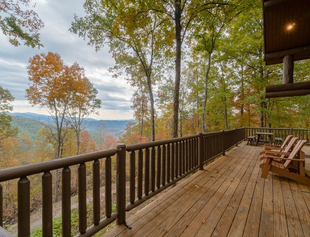 deck view Fall
