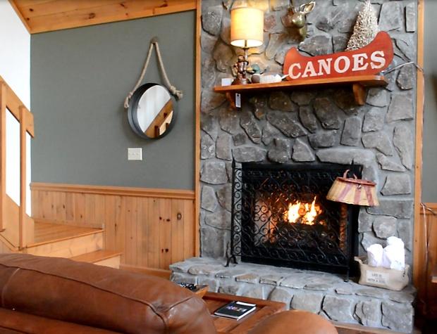 Buckhorn Living Fireplace