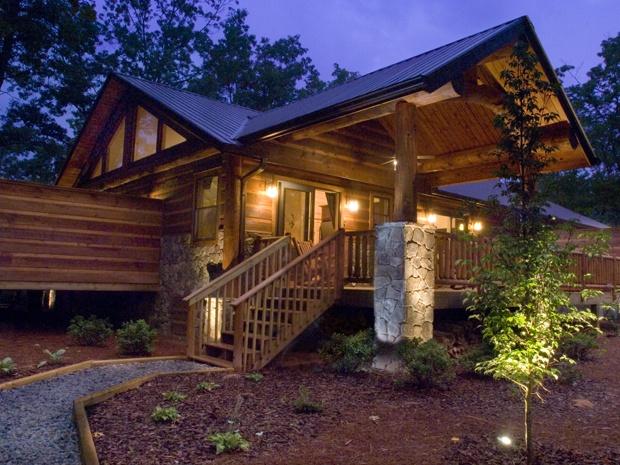 Treehouse B night