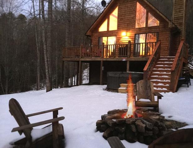 Snow Firepit