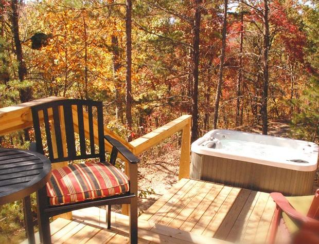 Deck and Hot Tub Loft 3
