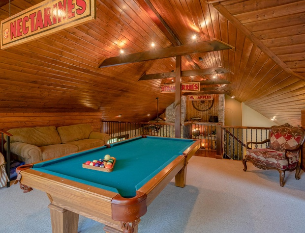 pool table loft