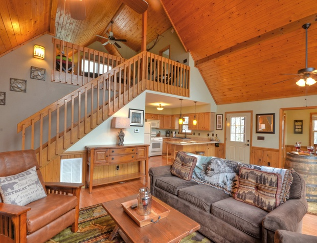 Thunderhead Living Room, Kitchen, and Loft