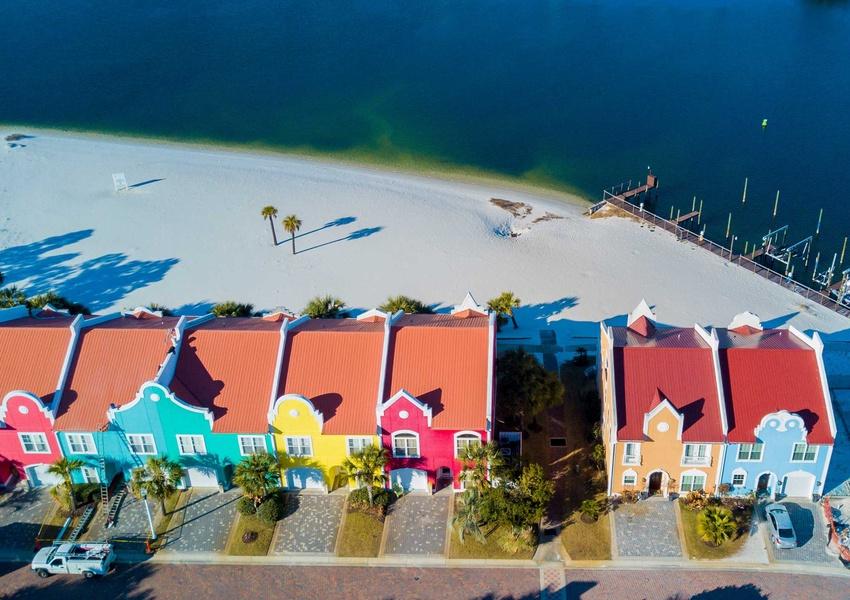 Banana Bay Townhome 6075 Perdido Key Vacation Rental By Southern