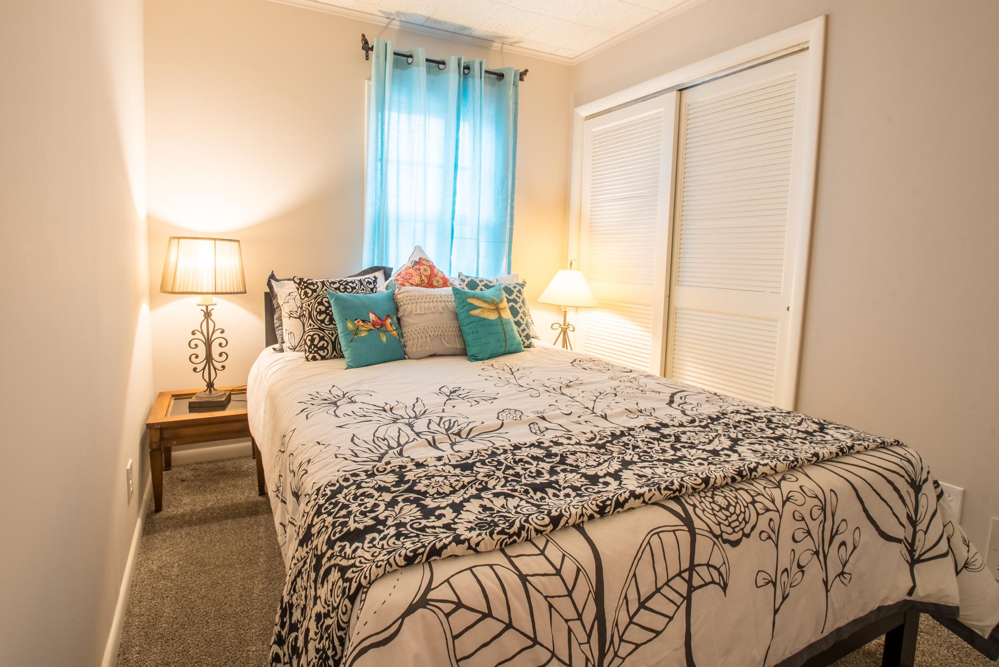 Bedroom two with queen mattress