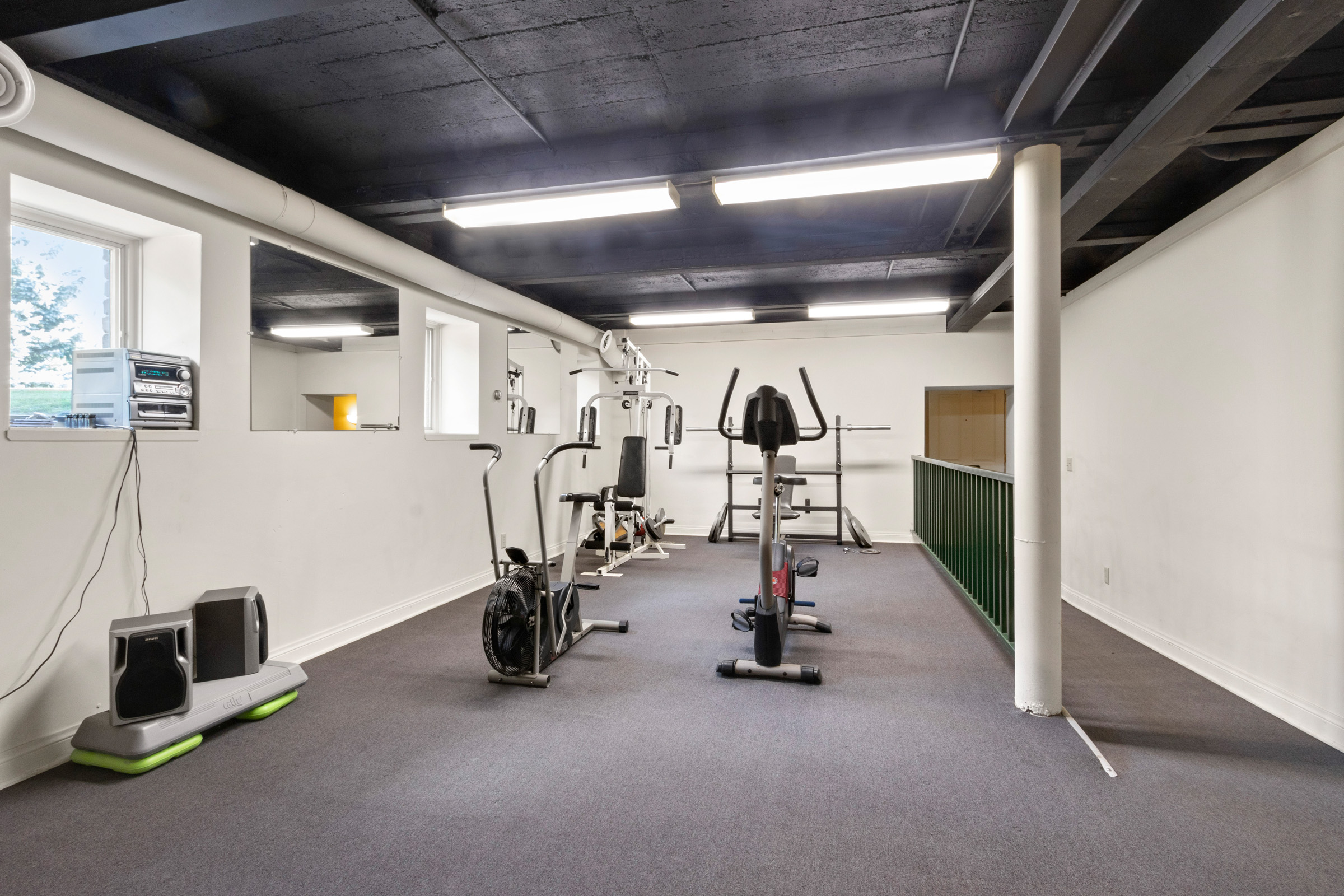 Common Area Work Out equipment